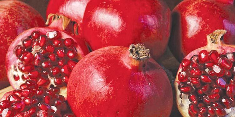 La granada: ¿una fruta cualquiera?