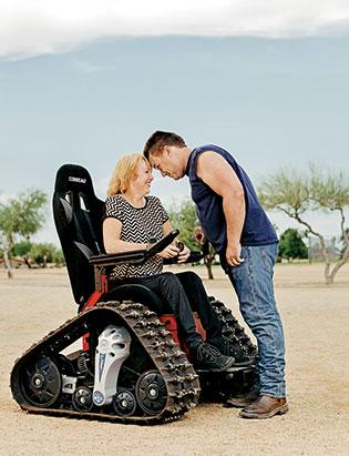cadeira de rodas para conquistar geral