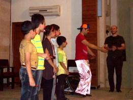 Durante un show