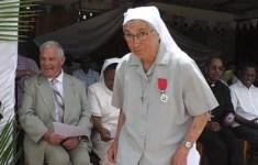 La hermana Marie Alleyrat, de la Congregación de las religiosas de la Divina Providencia de Saint Jean de Bassel.