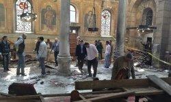 Atentado junto a la catedral copta de El Cairo.