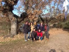 Los amigos del País Vasco que fueron a visitar la Reserva