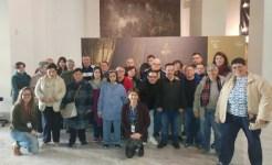 Alumnos del Centro Ocupacional de la Diputación de Valencia en la Exposición Pinazo