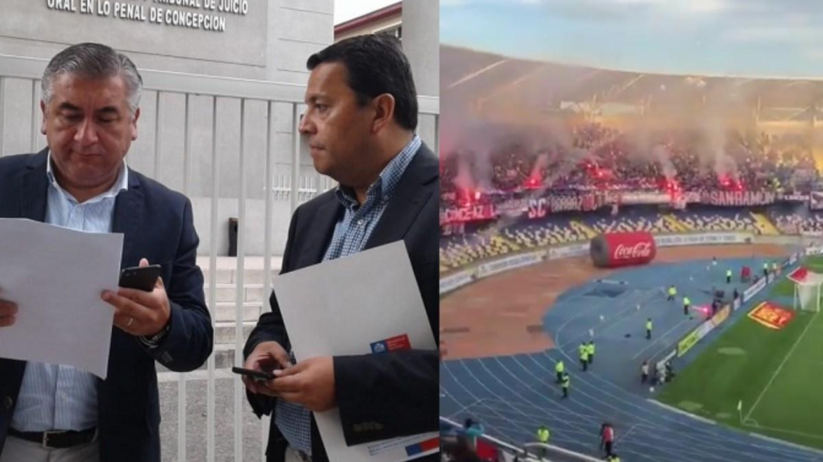 Gobernador Robert Contreras presenta QUERELLA contra hinchas de U. De Chile tras incidentes en estadio Ester Roa