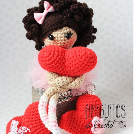 Muñeca piernas largas enamorados 1