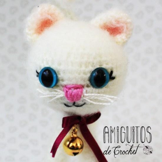 Preciosa gatita amigurumis, amiguitos de crochet