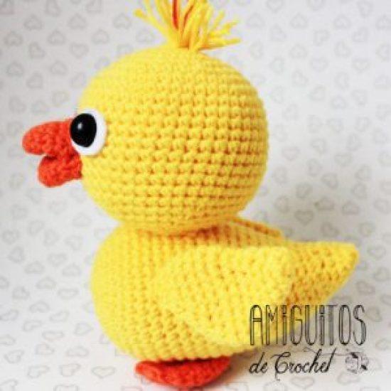 Patito, amigurumis, Amiguitos de crochet