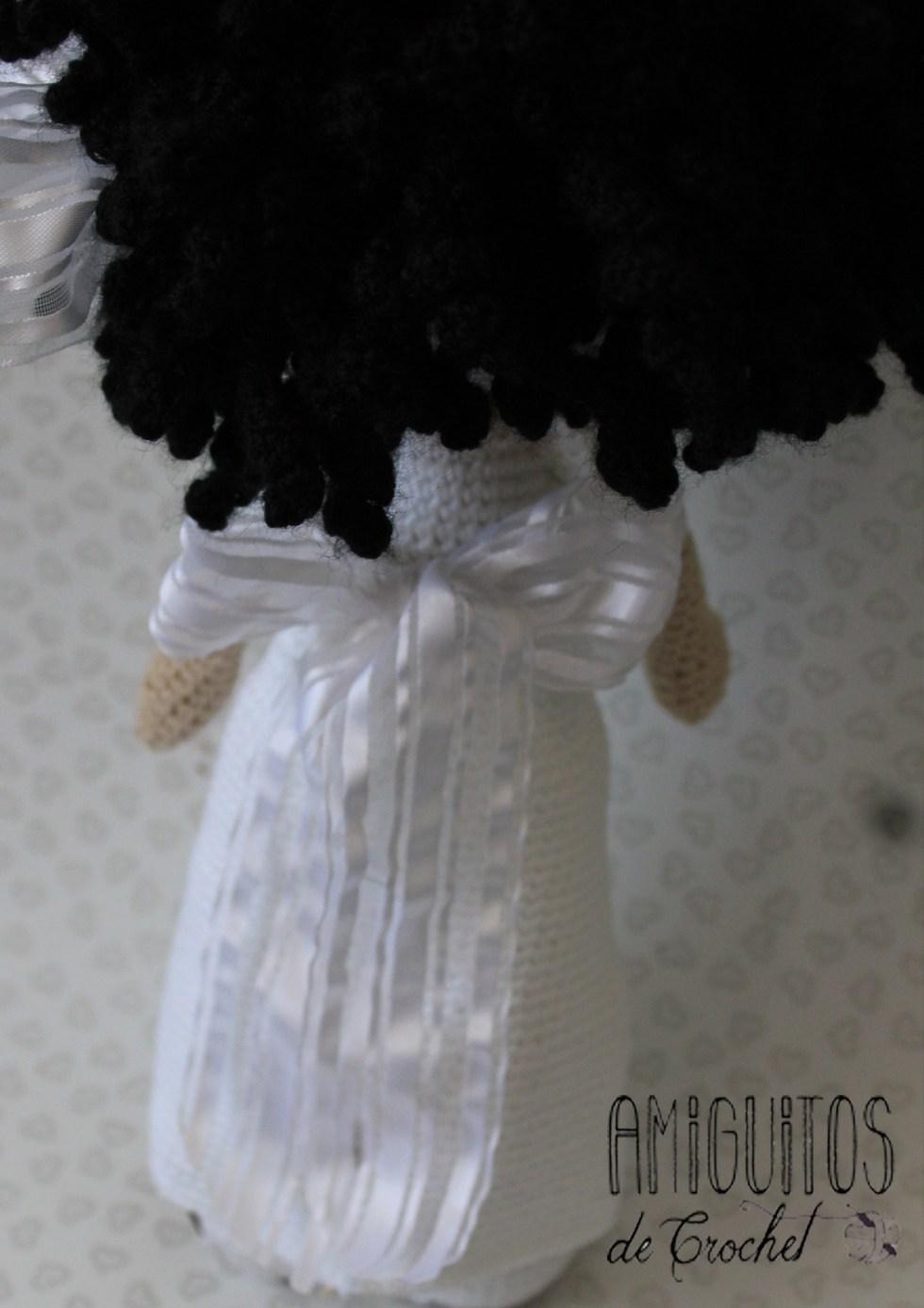 Muñeca de comunión-amigurumis personalizado