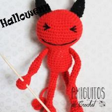 Halloween demonio