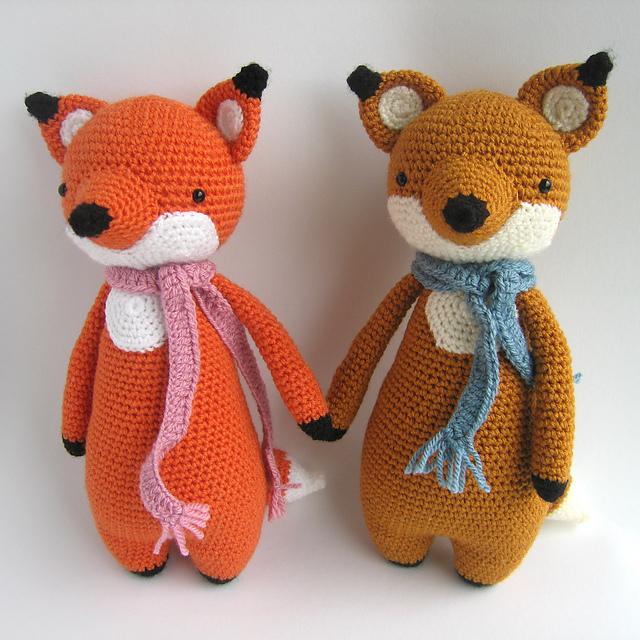 crochet fox amigurumi - YouTube | 640x640