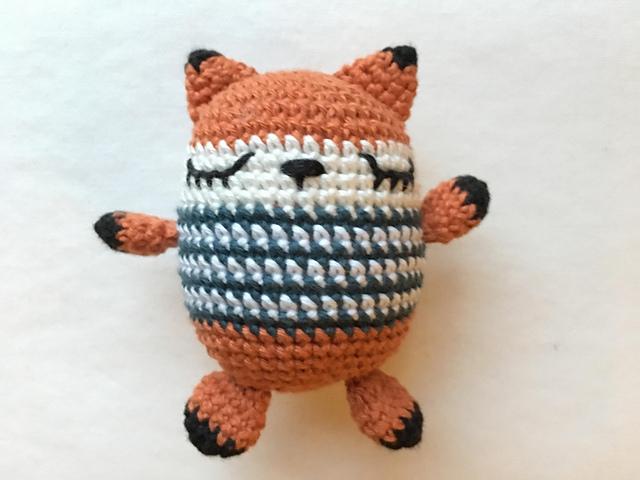 Fox cutie amigurumi