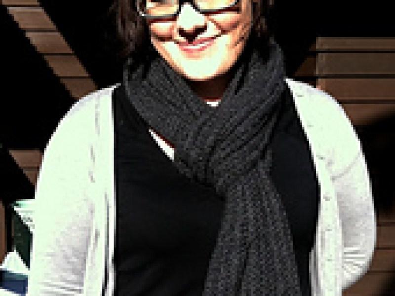 Crocheted men's scarf