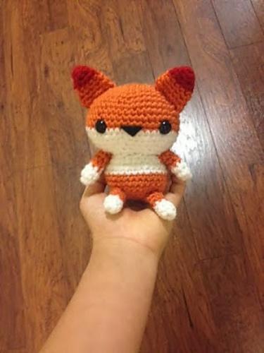 Amigurumi Fox wiht Horn Tutorial | 500x375