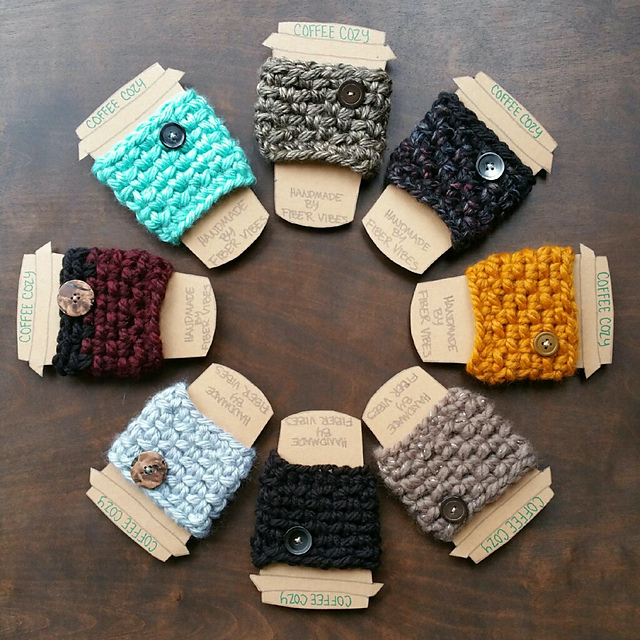 Coffee Cozy Crochet Pattern