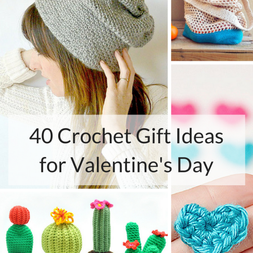Crochet Gift Ideas for Valentine's Day