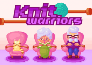 Knitting video game