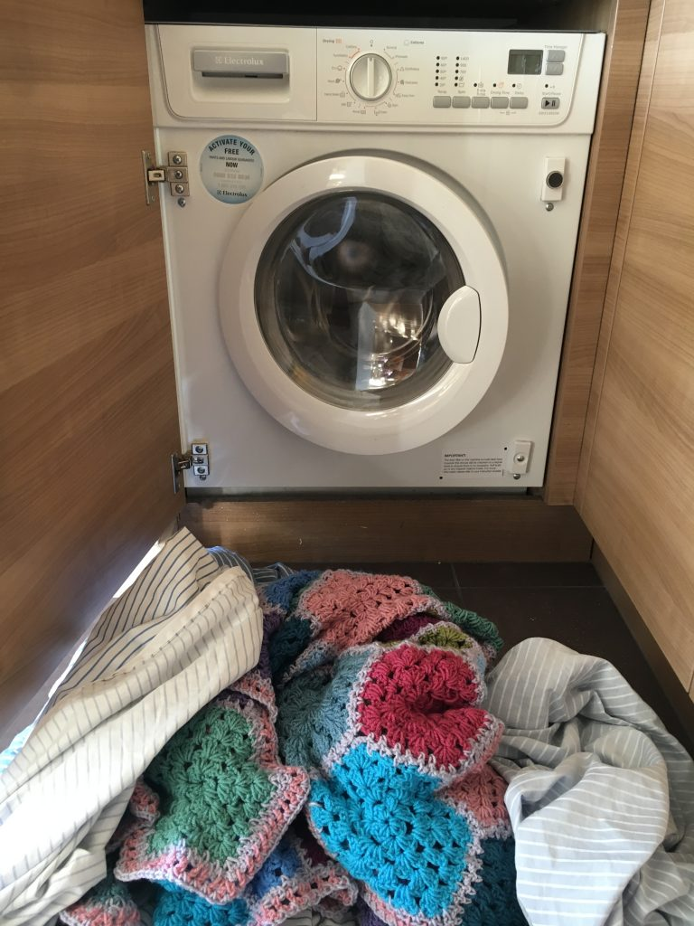 This is the best way to wash a crochet afghan