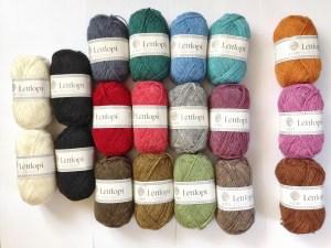 Lettlopi yarn colours