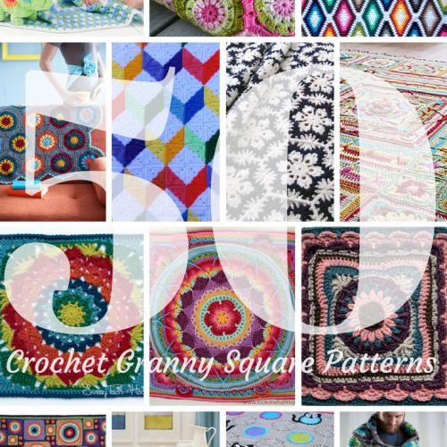 50 Crochet blanket patterns
