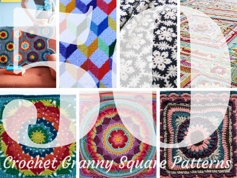 50 Amazing Granny Square Blanket Patterns Youll Want To Crochet