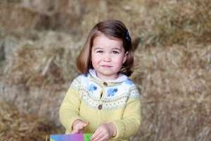 Knit Princess Charlottes sheep cardigan
