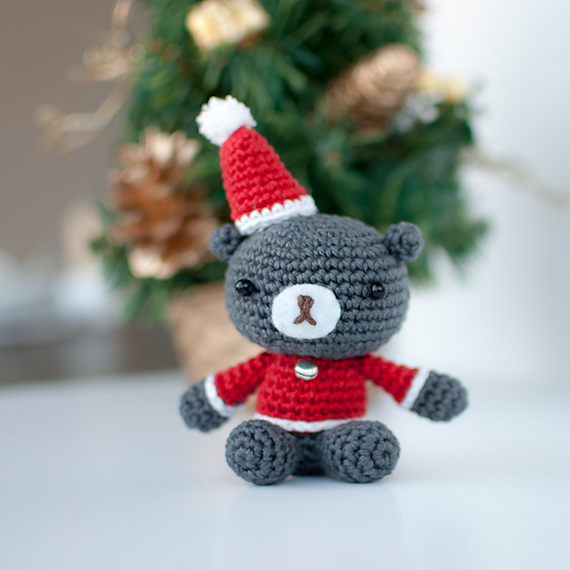 Christmas Teddy Crochet Pattern
