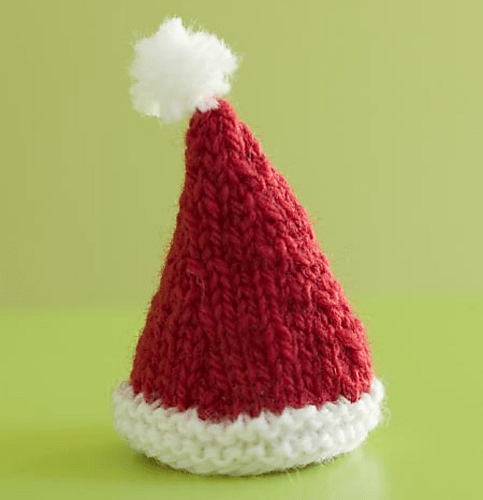 Knitted Santa Hat pattern