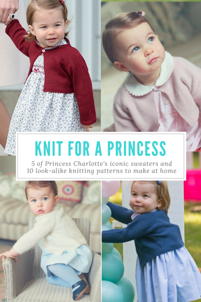 KNIT FOR A PRINCESS - Princess Charlotte Cardigan Patterns