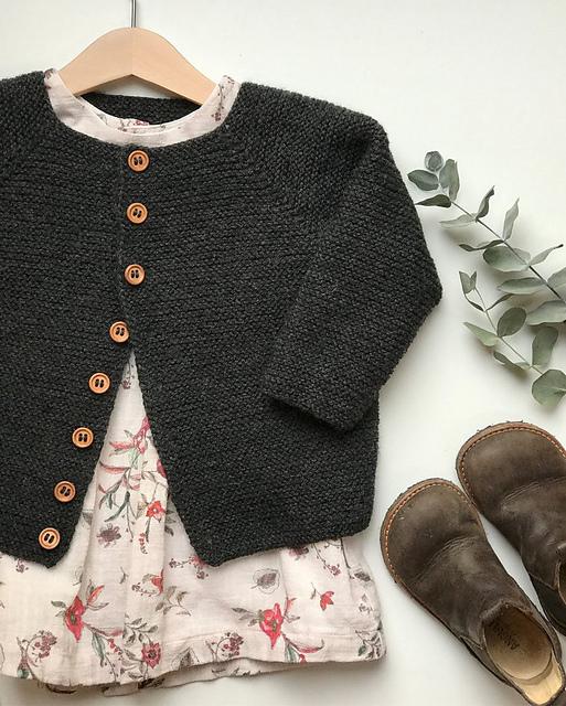 Knitting pattern for cardigan similar to princess charlottes