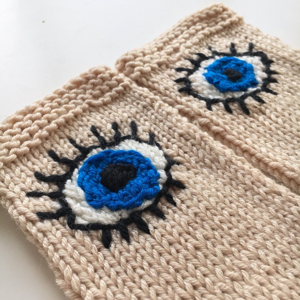 Evil Eye Gloves for March for our Lives
