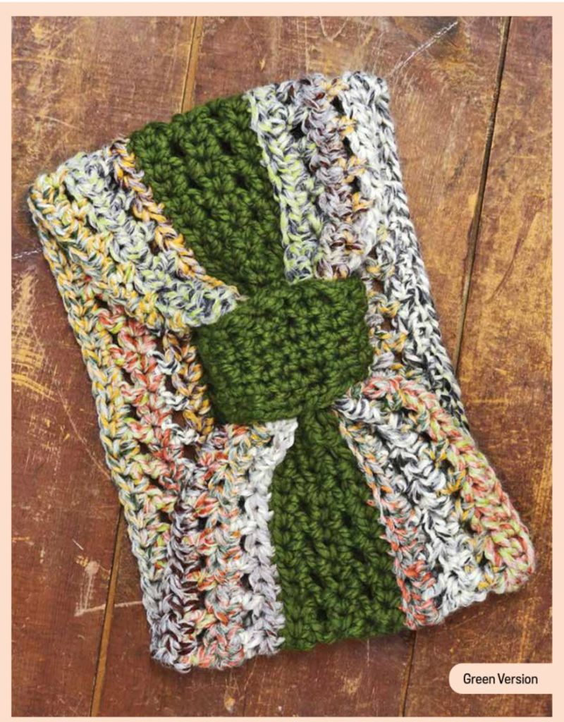 Easy crochet cowl pattern from the book Creative Crochet Projects