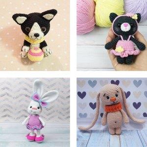 16 Free Amigurumi Pets Patterns