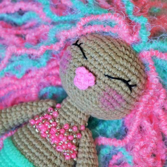 crochet coaster totoro amigurumi crochet pattern shy unicorn amigurumi ...