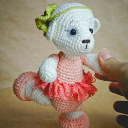 Deadpool Amigurumi Free Pattern : Ballerina cat doll crochet pattern - Amigurumi Today