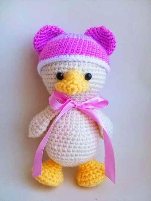 Crochet Duck Pattern Amigurumi : Amugurumi duckling pattern - Amigurumi Today