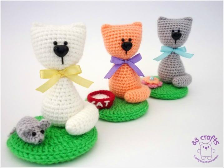 Amigurumi Pattern Cat Free : Souvenir cat amigurumi pattern - Amigurumi Today