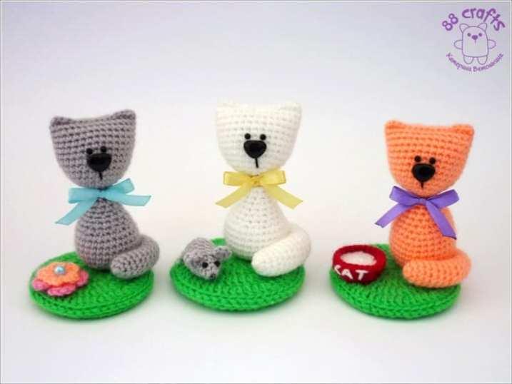 Amigurumi Cat Pattern Japanese : Souvenir cat amigurumi pattern - Amigurumi Today