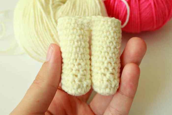 Cute bunny free crochet pattern