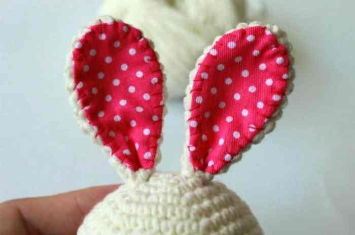How to crochet bunny amigurumi pattern