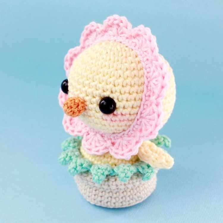 Crochet Today : Funny chick amigurumi crochet pattern - Amigurumi Today