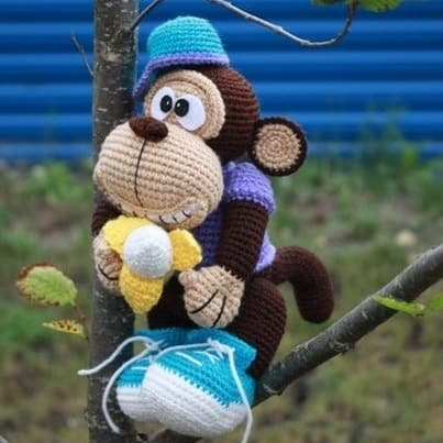 Amigurumi Gorilla Pattern : African animals Archives - Amigurumi Today