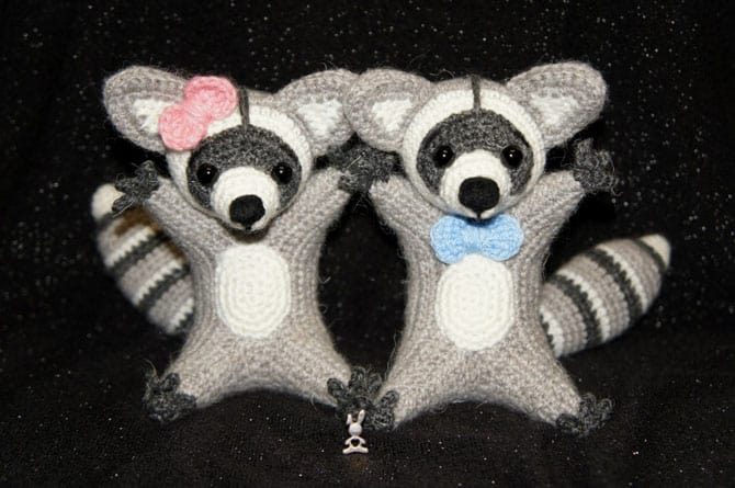 raccoon toy crochet amigurumi pattern