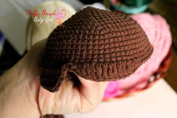 Doc McStuffins crochet pattern - hair