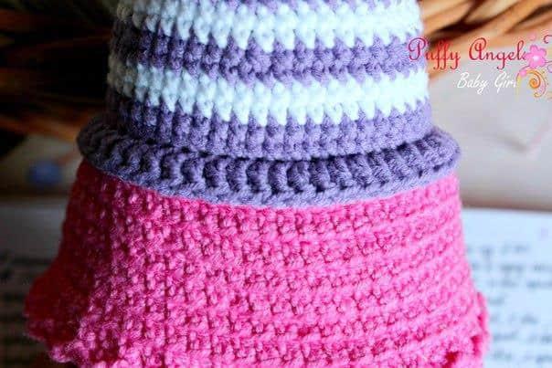Doc McStuffins crochet pattern - skirt