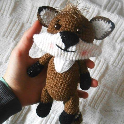 Amigurumi raccoon free crochet pattern