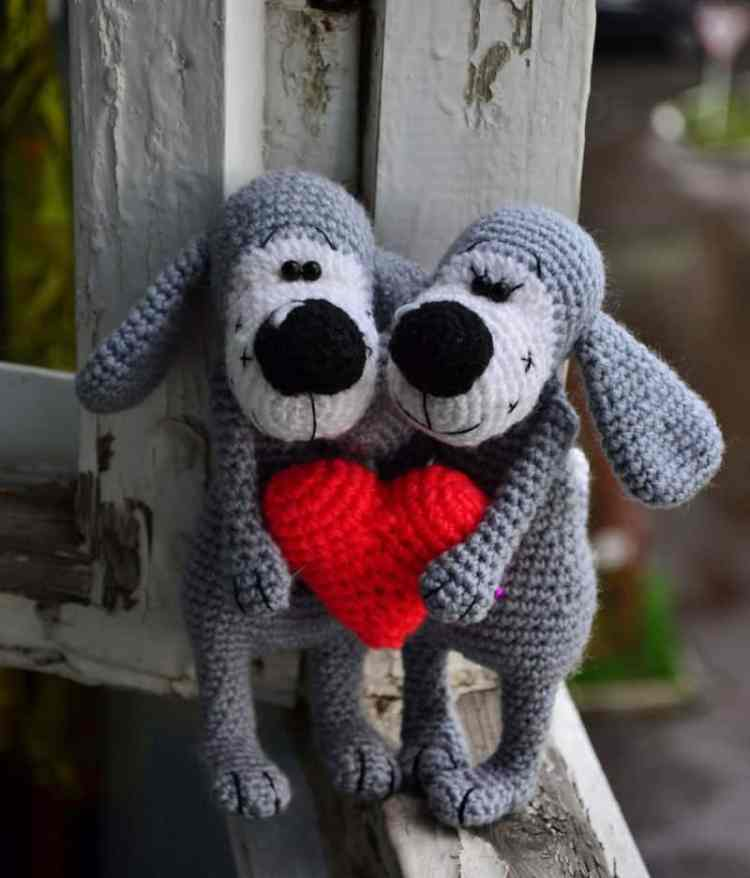 Boofle dog crochet pattern free