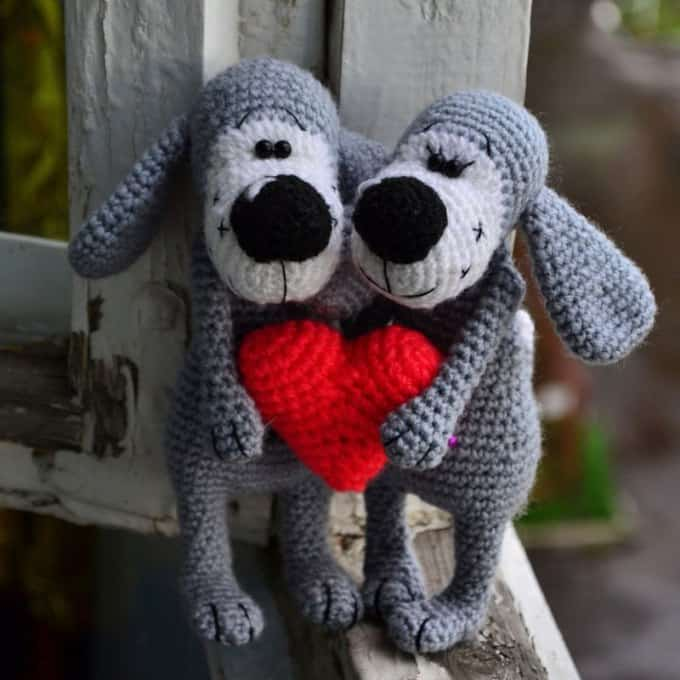 Free Pattern For Amigurumi Dog : Amigurumi Today - Free amigurumi patterns