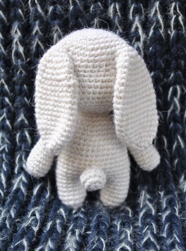 Adorable bunny amigurumi pattern free