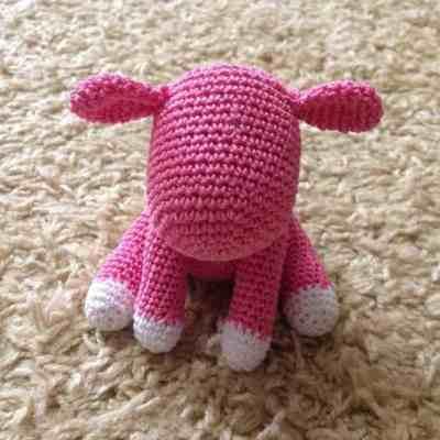 Crochet baby unicorn amigurumi pattern free