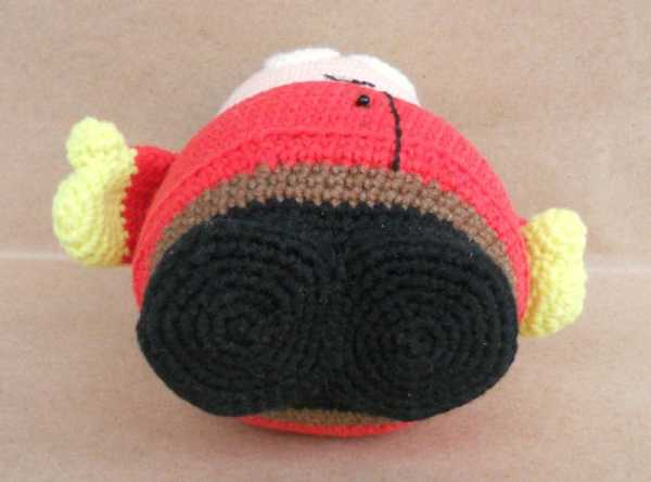 Crochet Eric Cartman amigurumi pattern